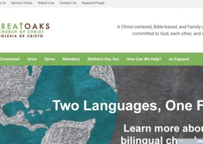 Great Oaks church of Christ