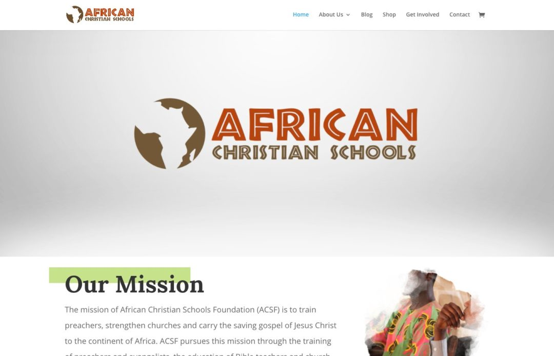 African Christian Schools Website